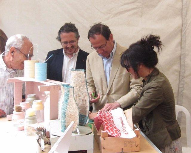 Igualada y Cámara en los talleres con motivo del Día Mundial del Reciclaje