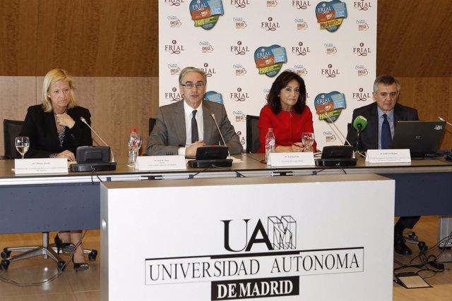 Presentación de la patente 'Vidalim', del Grupo Frial y de la UAM