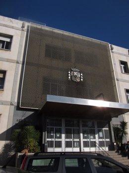 Edificio de la Audiencia de Córdoba