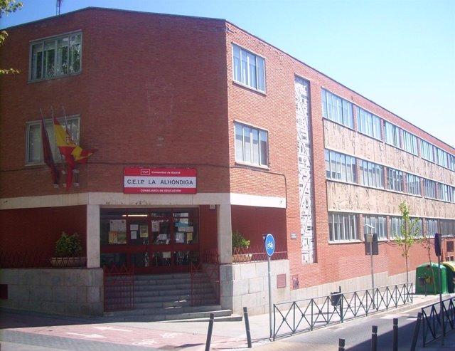 Colegio público en Getafe