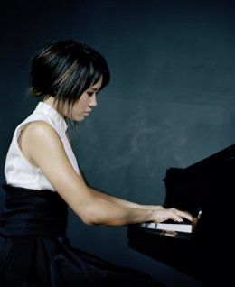 La pianista china Yuja Wang