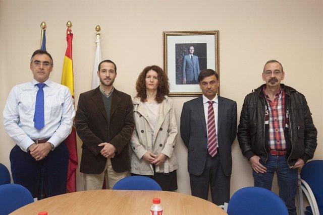Visita de los participantes del programa europeo HOPE