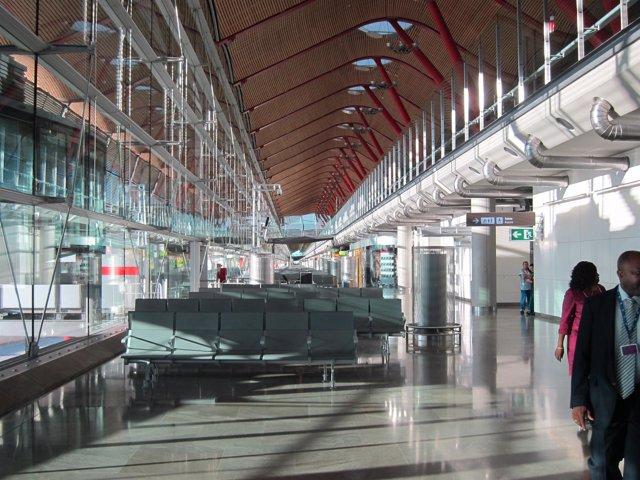 Satelite aeropuerto de Barajas