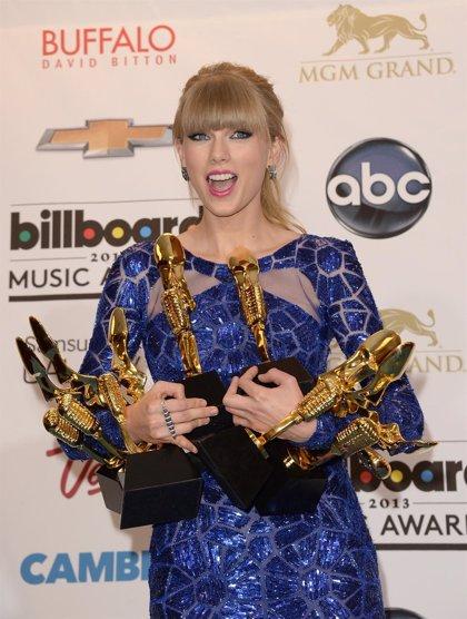 Taylor Swift, la mejor artista del año en los Billboard