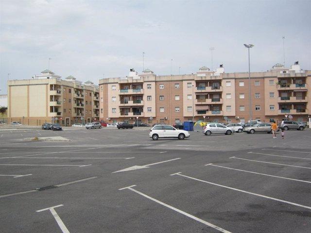 La bolsa de aparcamiento público de Los Molinos.