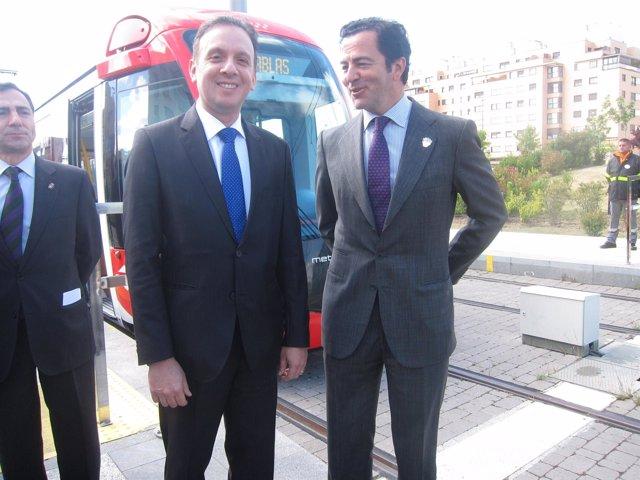 Cavero con el ministro de Las Ciudades de Brasil