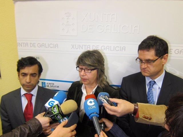 La conselleira de Medio Rural e do Mar, Rosa Quintana