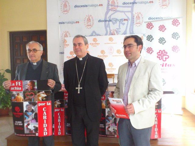 Presentación  memoria de Cáritas 2012