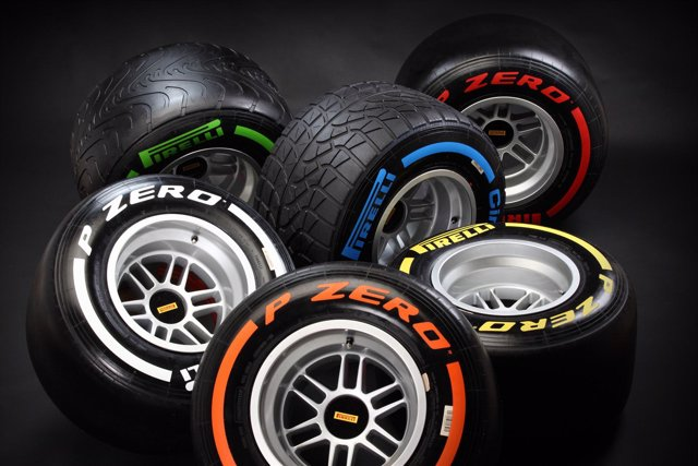 Neumáticos Pirelli para la Fórmula 1