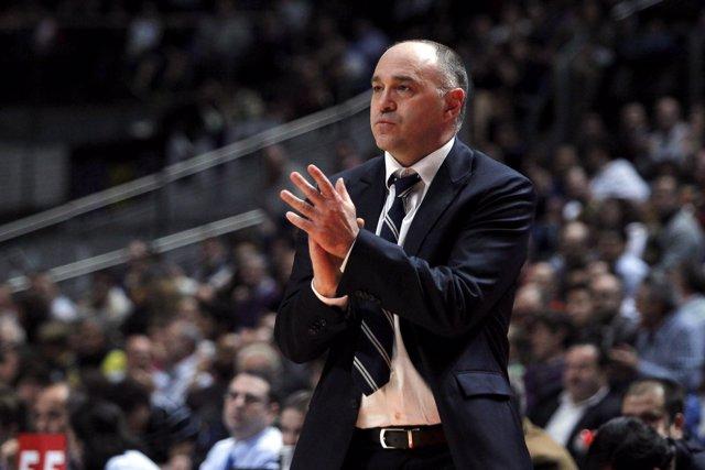 Pablo Laso entrenador Real Madrid Baloncesto