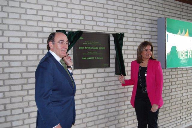 Ignacio Sánchez Galán y Fátima Báñez