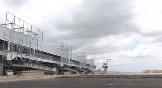 Vista Principal Del Aeropuerto De Corvera En Una Foto De Archivo