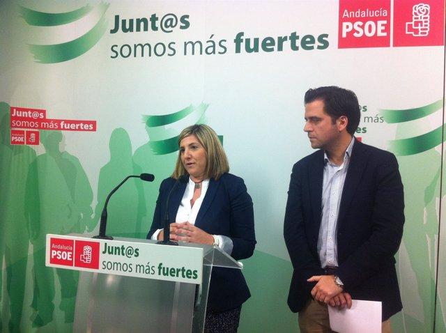 Irene García y Fran González (PSOE)