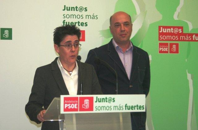 María Fe Muñoz y Antonio Ruiz