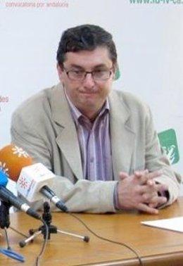 José Luis Centella, en rueda de prensa