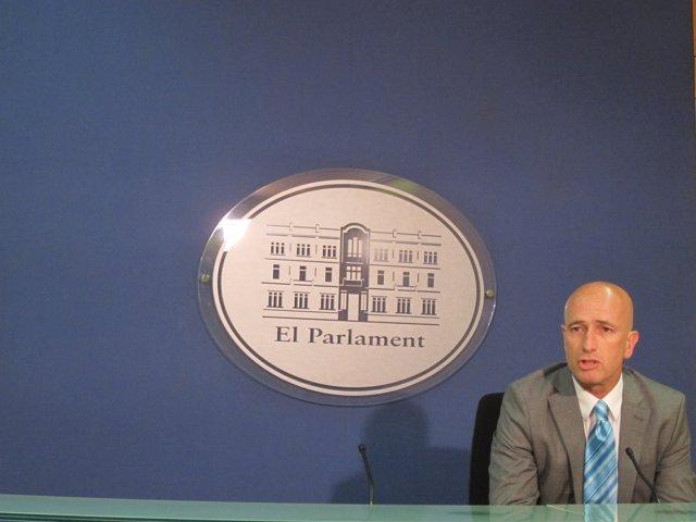 El diputado no adscrito y vicepresidente de El PI, Antoni Pastor