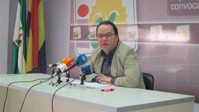 El responsable de Organización de IU en Huelva.