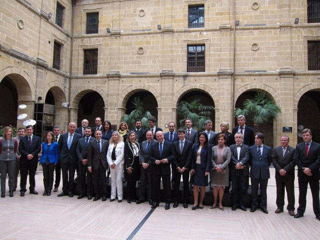 Conferencia Sectorial Cultura con el ministro de Educación, Wert