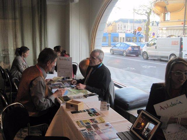 Acción de promoción del destino Huelva en los países nórdicos.