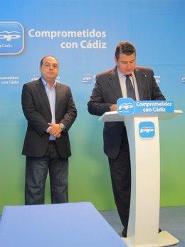 Antonio Sanz y José Manuel Martínez