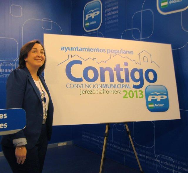 Ana Corredera presenta el lema de la convención municipal del PP-A