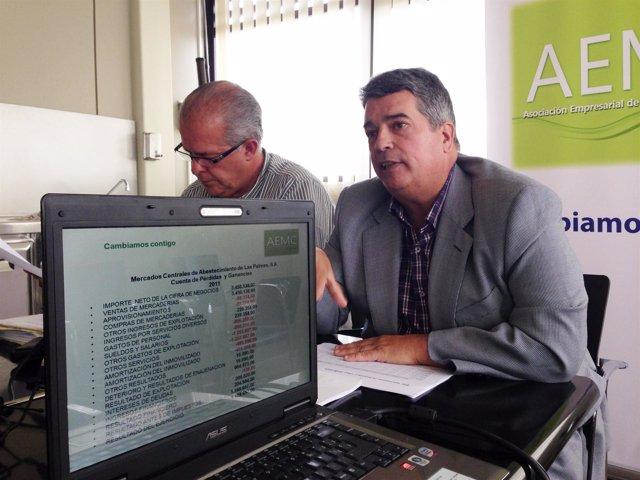 Integrantes de la Asociación Empresarial de Mercados de Canarias (AEMC)