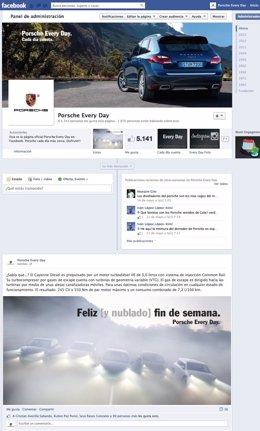 Porsche Ibérica en Facebook