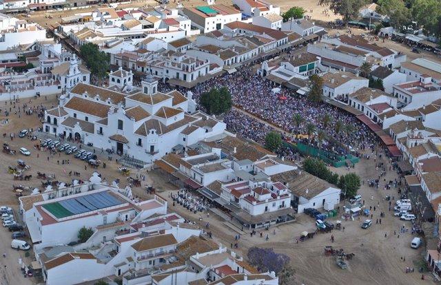 La aldea de El Rocío.