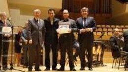Entrega de premios del Certamen Provincial de Bandas de Valencia