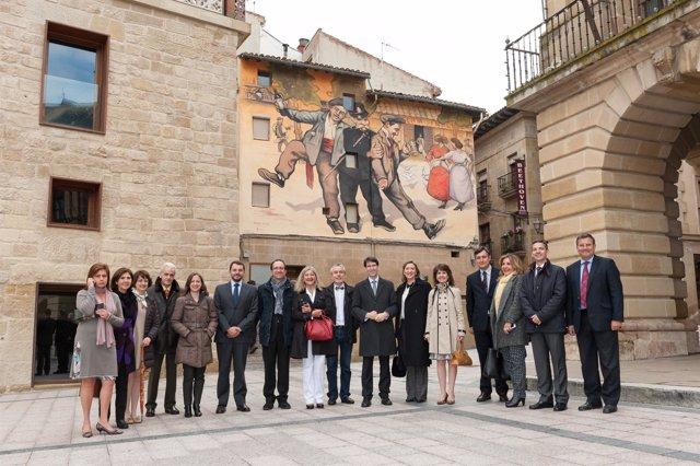 Visita responsables de Cultura a La Rioja Tierra Abierta