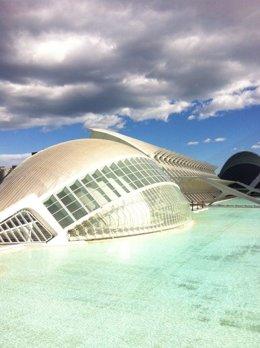 Imagen de la Ciudad de las Artes y las Ciencias (CACSA)