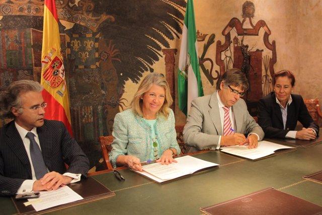 Angeles Muñoz y José Carlos Escribano