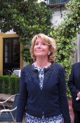 Esperanza Aguirre, en Córdoba