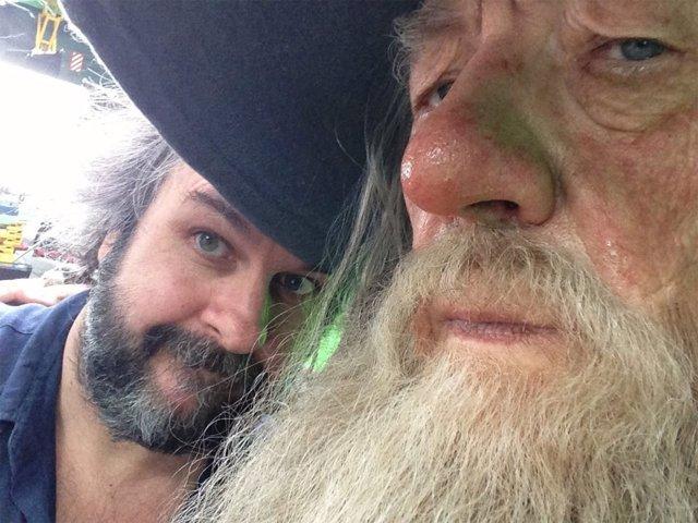 Peter Jackson rueda las últimas escenas de El Hobbit