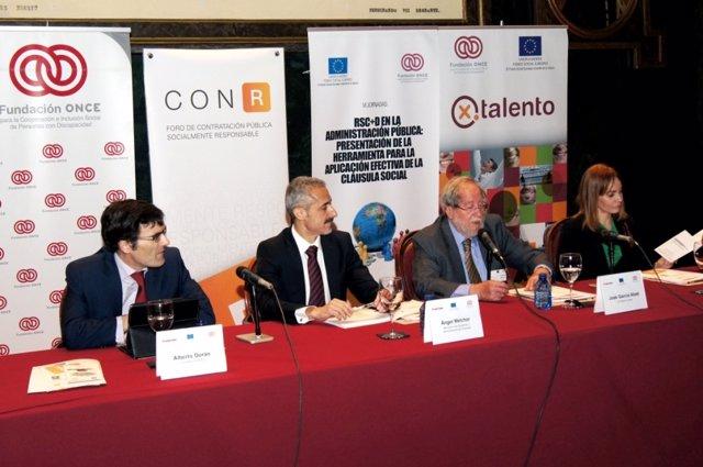 Ángel Melchor ha participado en el Foro de Contratación Pública Responsable