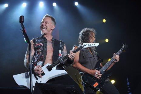 La nueva película de Metallica 'through the never'