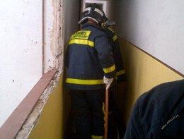 Incendio en Lope de Haro