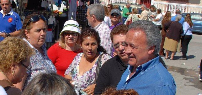 Pedro Pacheco En Un Acto De Campaña Electoral