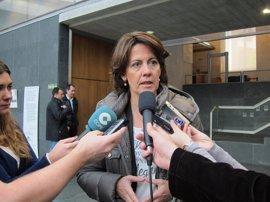 """Barcina manifiesta su """"total respeto"""" a la Justicia, que se pronuncia este viernes sobre los 'tartazos'"""
