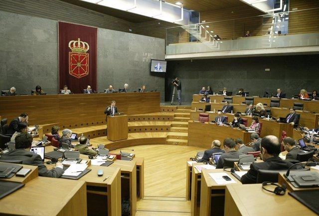 Pleno del Parlamento.