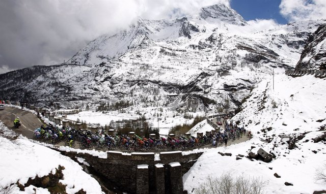 Giro Italia Cesana