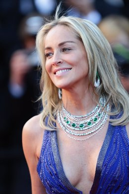 Sharon Stone en Cannes