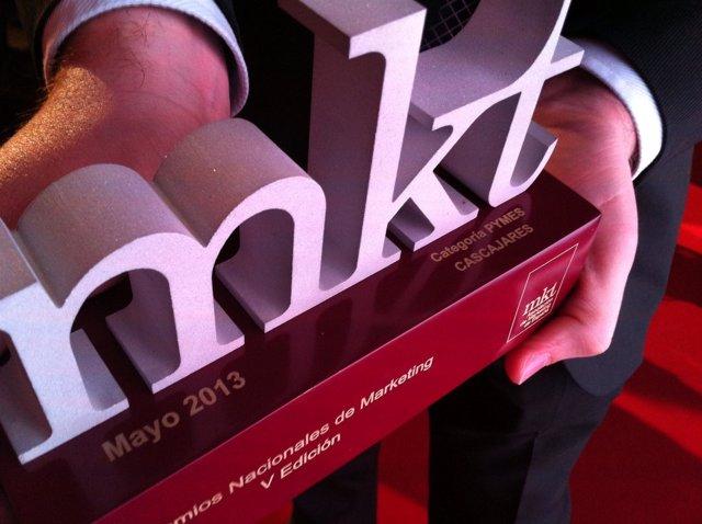 Premio Nacional de Marketing 2013 recibido por Cascajares