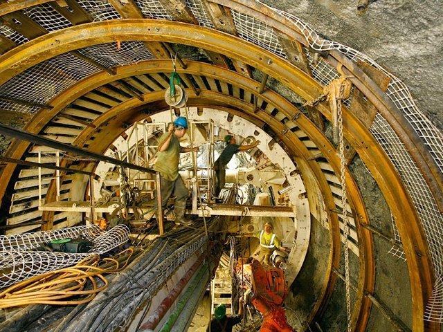 OHl excavación de túnel en Manhattan