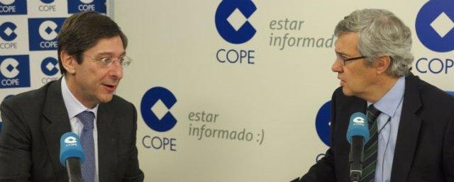 José Ignacio Goirigolzarri en la Cope