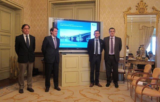 Presentación del estudio sobre el puente Enrique Estevan en Salamanca