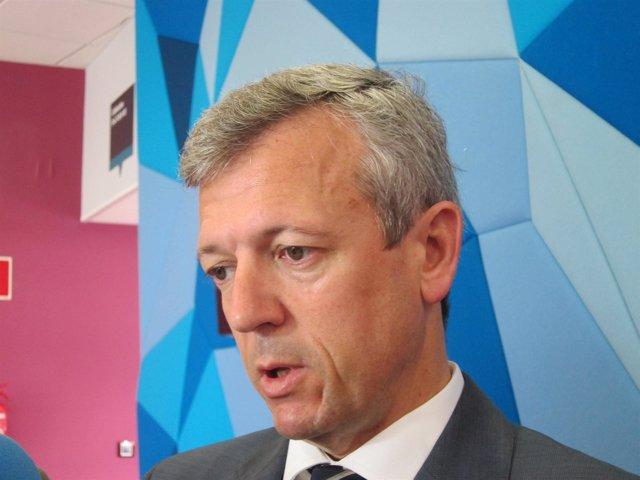 El vicepresidente de la Xunta y secretario general del PPdeG, Alfonso Rueda