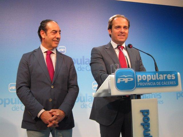 Juan Parejo, Vicesecretario De Organización Del PP De Extremadura