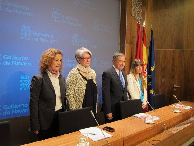 Presentación del Plan Internacional Navarra.