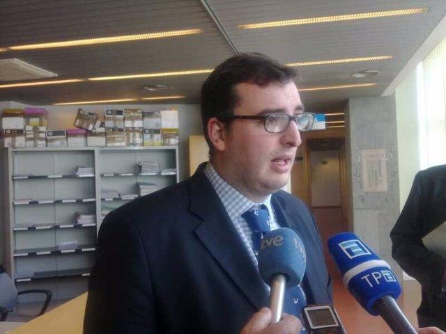El portavoz de Foro en Pravia, Juan José Escudero
